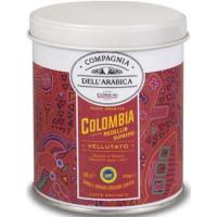 Compagnia Dell'Arabica -Colombia Medelin Cafea MacinataCutie Metal 125G