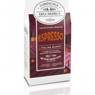 Compagnia Dell'Arabica - Caffe' Al Ginseng Moka Cafea Macinata 250G