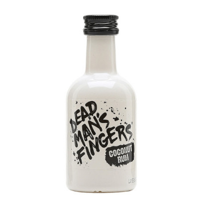 Dead Mans Fingers - Coconut Rum 37.5% Alc- Miniaturi  0.05L