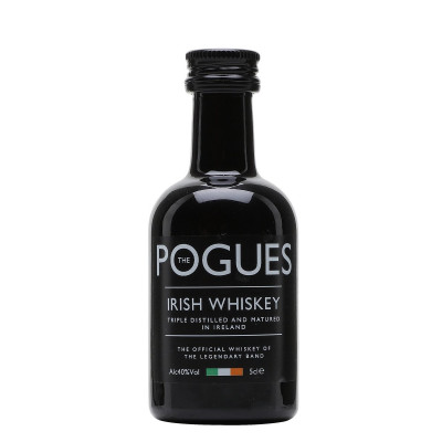 Pogues - Irish Whisky 40% Alc - Miniaturi  0.05L