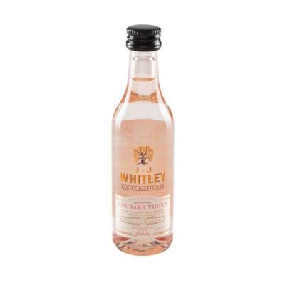 Jj Whitley - Rhubarb Vodka 38.6% Alc - Miniaturi  0.05L