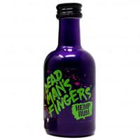 Dead Mans Fingers - Hemp Rum 40% Alc- Miniaturi  0.05L