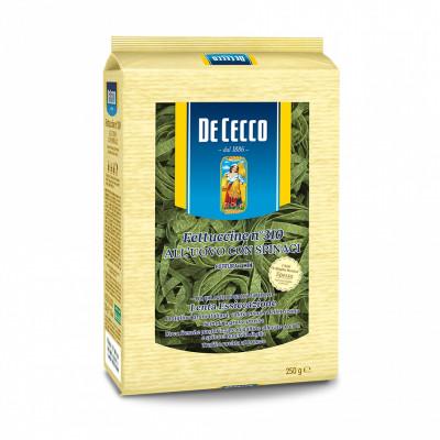 De Cecco - Paste Fettucine Cu Spanac Si Ou 250G