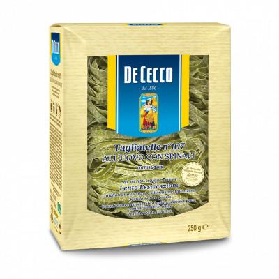 De Cecco - Paste Tagliatele Cu Spanac Si Ou 250G
