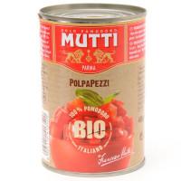 Mutti - Bio Rosii Cuburi 400G