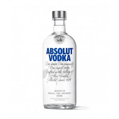 Absolut - Vodka Blue 40% 0.5L