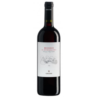 Vin Rosu Gli Amici Rosso Di Montalcino, Cecchi, DOC 0,75 L
