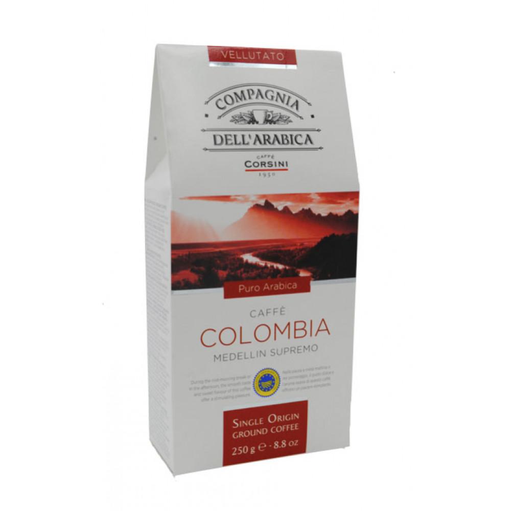 Cafea macinata Colombia, Compagnia Dell'arabica, 250g