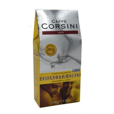 Cafea macinata Qualita' Oro, Caffe Corsini, 250g