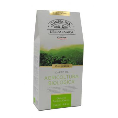 Cafea macinata BIO Arabica, Compagnia Dell'arabica, 250g