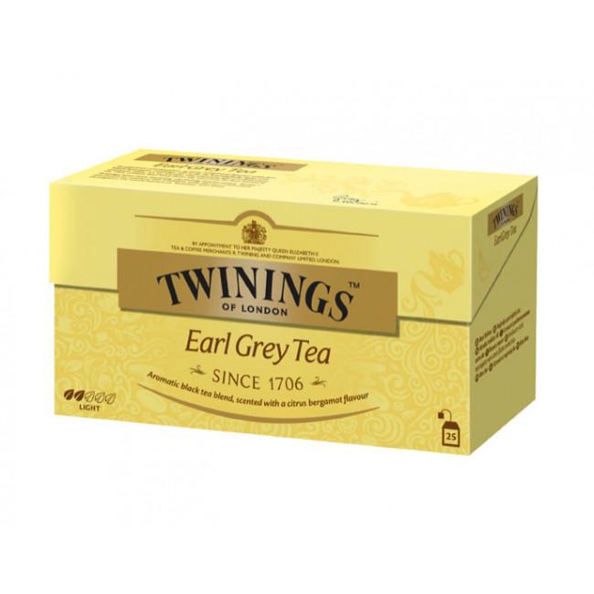 Ceai negru Earl Grey, Twinings, 25x2g