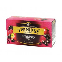 Ceai negru cu aroma de fructe de padure, Twinings, 25x2g