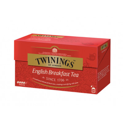 Ceai negru English Breakfast, Twinings, 25x2g