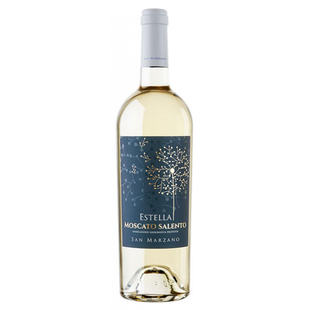 Vin Alb Estella Moscato Salento, San Marzano, IGP 0,75 L
