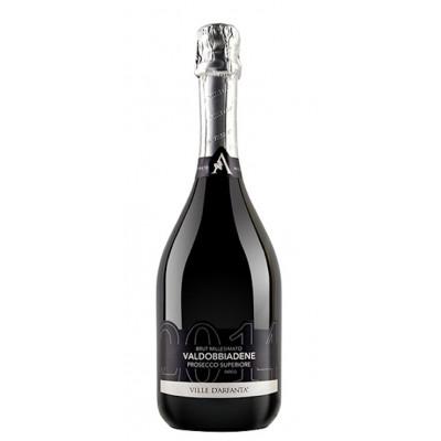 Vin Spumant Prosecco Millesimato Brut Valdobbiadene, Ville D'arfanta, DOCG 0,75 L