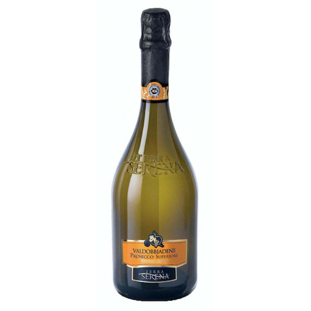 Terra Serena - Valdobbiadene Prosecco Superiore Extra Dry DOCG 0,75 L