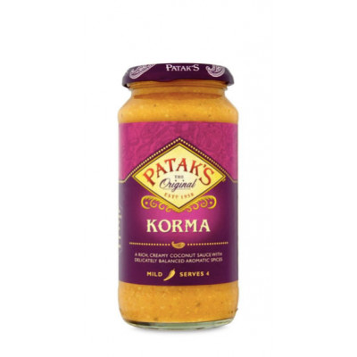 Sos indian Korma, Patak's, 350g