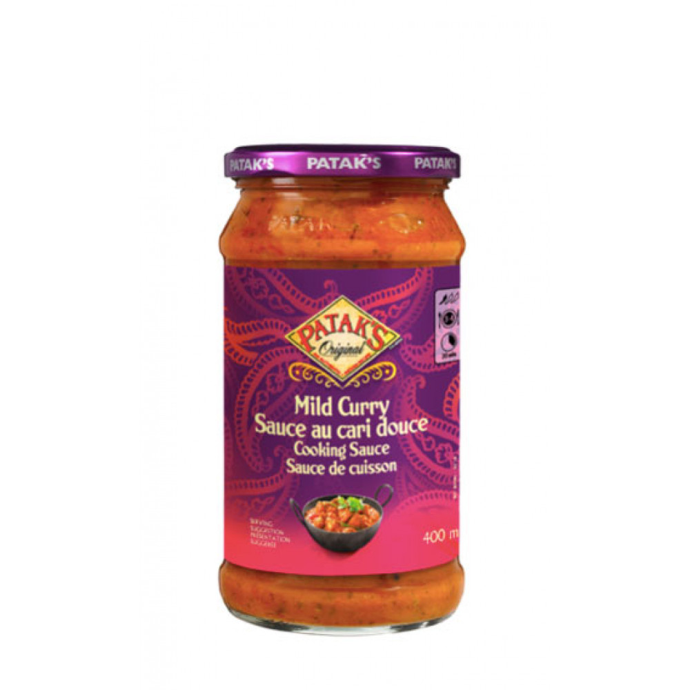 Sos indian Mild Curry, Patak's, 350g