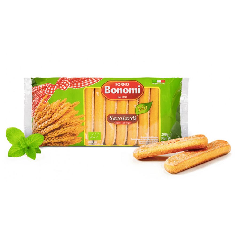 Piscoturi BIO Savoiardi, Forno Bonomi, 200g ( 26% Ou )