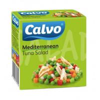 Salata mediteraneana cu ton, Calvo, 150g