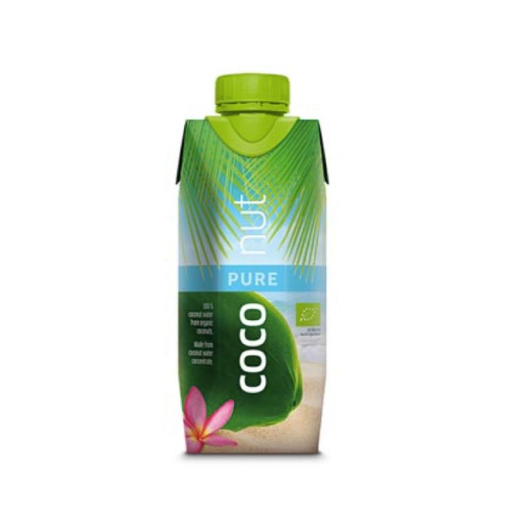 Apa de cocos 100% Eco - Aqua Verde, 0,33L