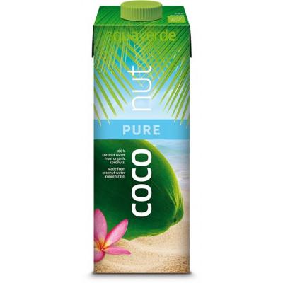 Apa de cocos 100% Eco - Aqua Verde, 1L