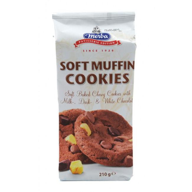 Cookies Soft Muffin, Merba, 210g