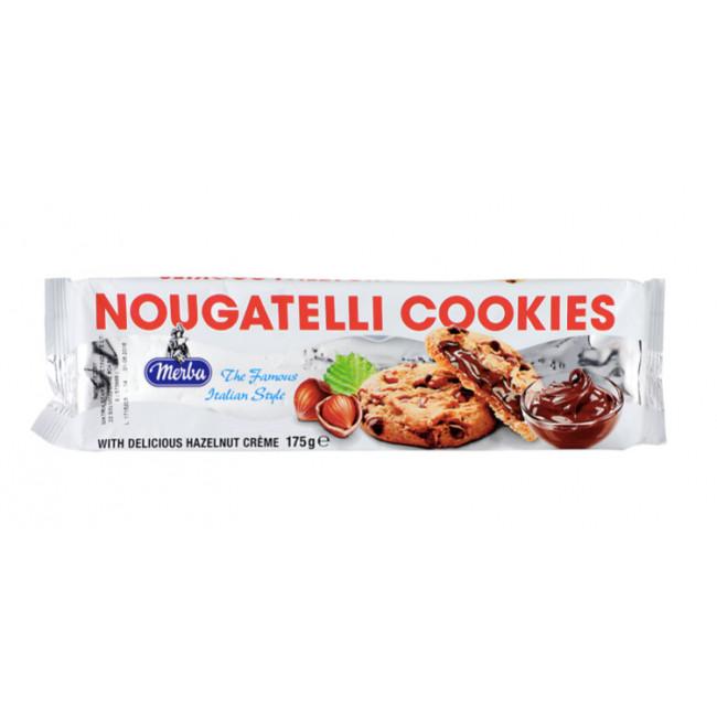 Biscuiti Nougatelli, Merba, 175g