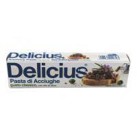 Pasta de ansoa in ulei de masline, Delicius, 60g
