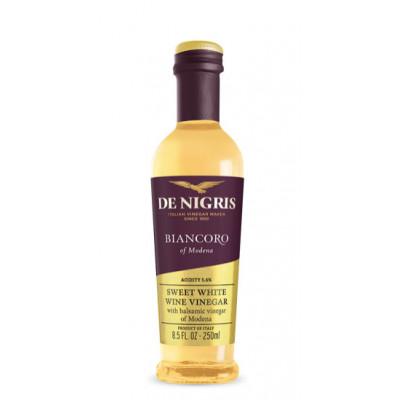 Otet italian alb Biancoro, condiment, De Nigris, 500ml