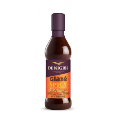 Crema de otet balsamic, spicy cu Chipotle Glaze, De Nigris, 250ml
