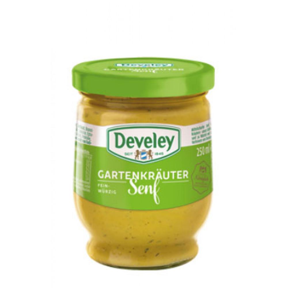Mustar cu plante aromate - Munchner, Develey, 250ml