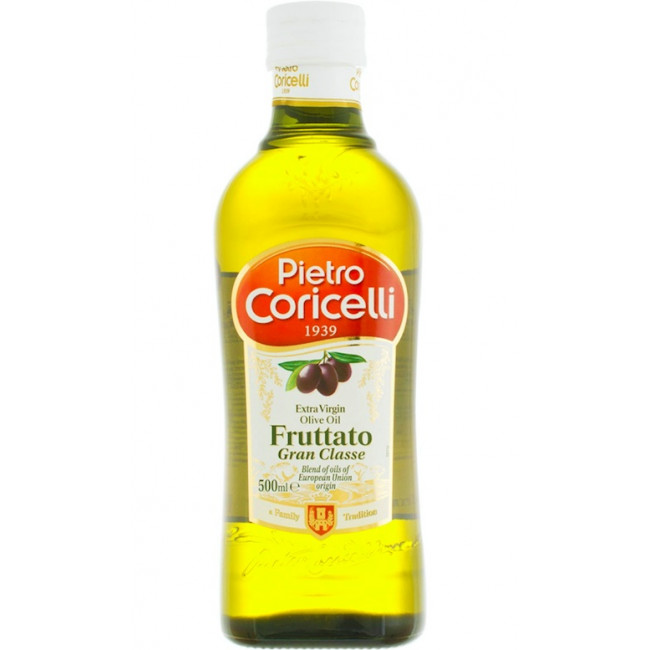 Ulei de masline extra virgin Fruttato, Pietro Coricelli, 500ml