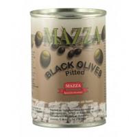 Masline negre fara samburi, Mazza, 397g