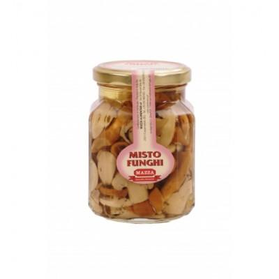 Ciuperci mixte in ulei, Mazza, 314ml