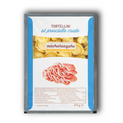 Tortelini cu prosciutto crudo, Michelangelo, 250g