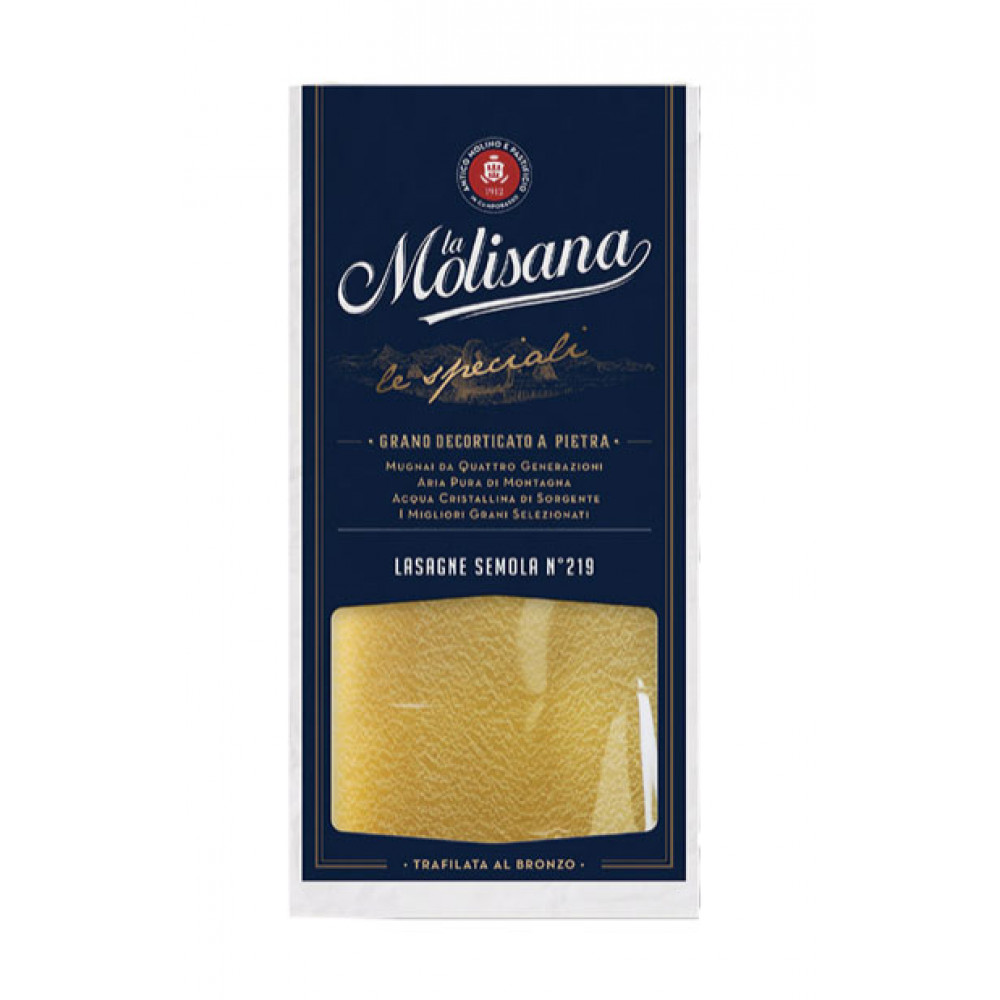 Paste Lasagne Di Semola No219, La Molisana, 500g