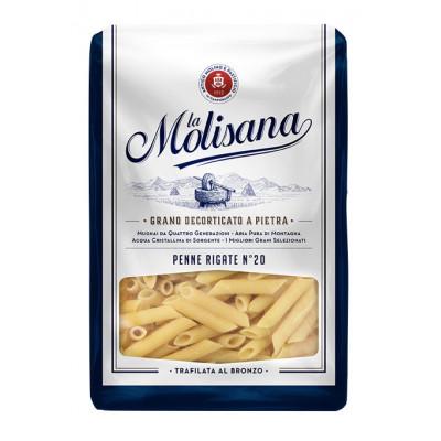 Paste Penne Rigate No20, La Molisana, 1kg