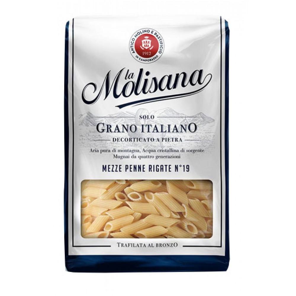 Paste Mezze Penne Rigate No19, La Molisana, 1kg