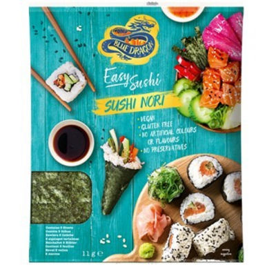 Foi de alge pentru Sushi Nori, Blue Dragon, 11g
