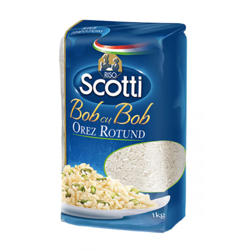 Orez cu bob rotund, Scotti, 1kg