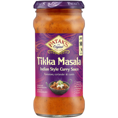 Sos indian Tikka Masala, Patak's, 350g