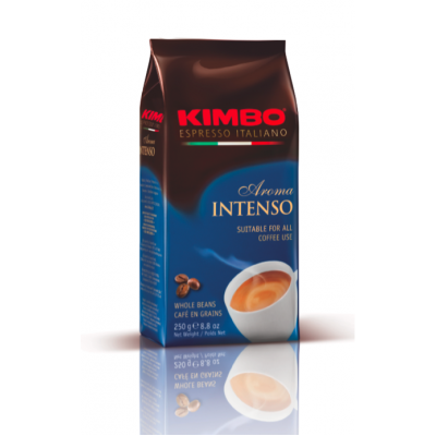 Cafea boabe Aroma Intenso, Kimbo, 250g