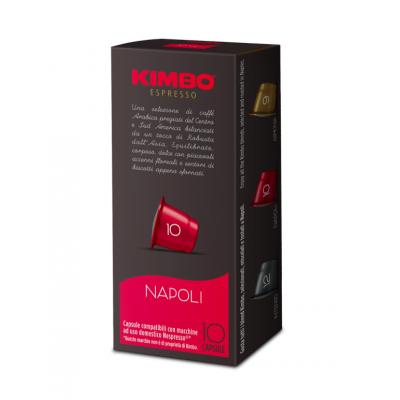 Cafea Capsule Napoli, Kimbo, compatibile Nespresso 10x7g