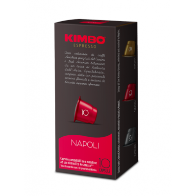 Cafea Capsule Napoli, Kimbo, 10x7g
