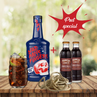 Pachet Dead Man's Fingers HN & Franklin Cola
