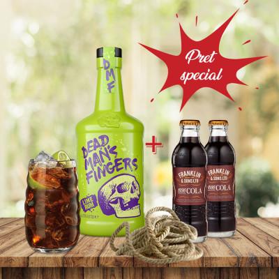 Pachet Dead Man's Fingers Lime & Franklin Cola