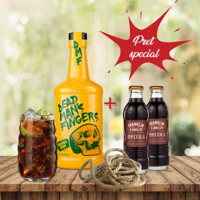 Pachet Dead Man's Fingers Mango & Franklin Cola