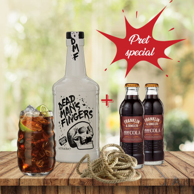 Pachet Dead Man's Fingers CC & Franklin Cola