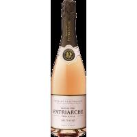 Vin Spumant Roze Cremant de Bourgogne Brut, Patriarche, 0,75 L